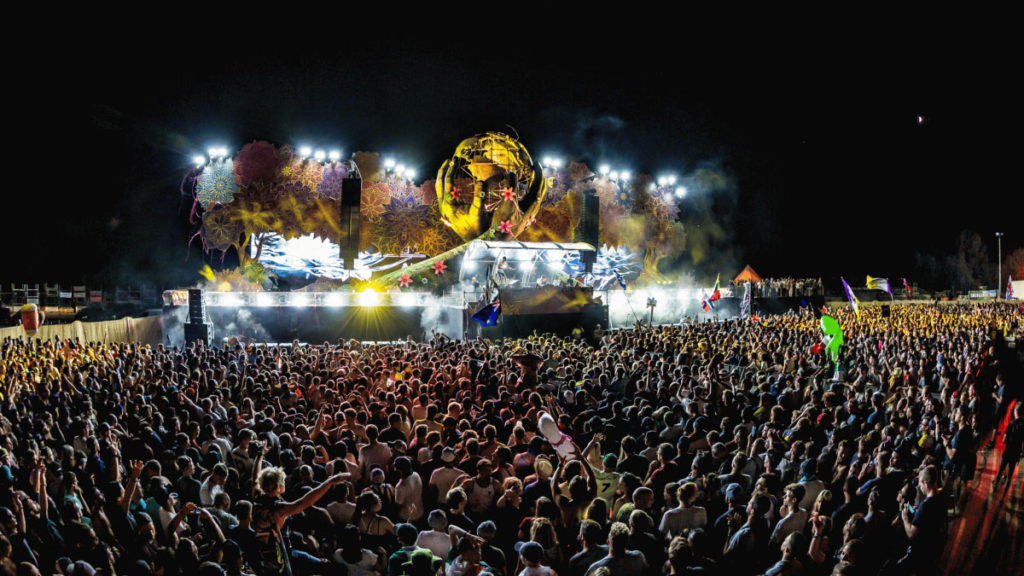 Tomorrowland 前夜祭 夜