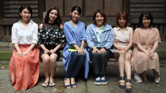 後藤つき、西田カリナ、神宮寺ナオ、小栗はるひ監督、星美りか、藤川菜緒