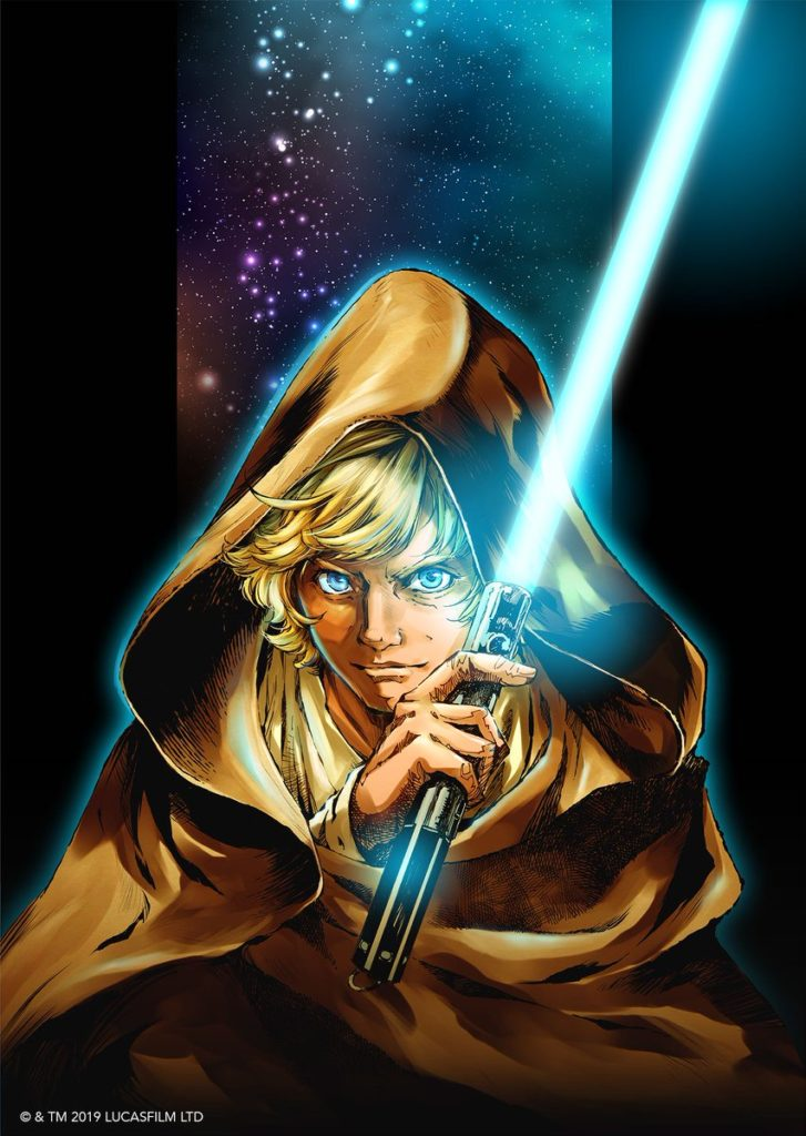 Star Wars: The Legends of Luke Skywalker カバーイラスト