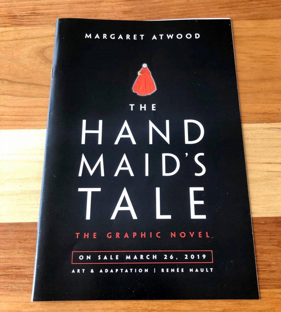 マンガ/グラフィックノベル「The Hands Maid's Tale」の小冊子
